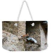 Sentry Cat Weekender Tote Bag