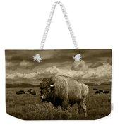 King Of The Herd Weekender Tote Bag