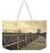 Sepia Boardwalk Weekender Tote Bag