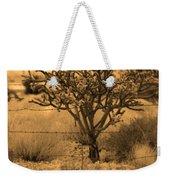 Sepia Cacti Roadside Weekender Tote Bag