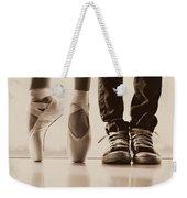 Sepia Duet Weekender Tote Bag