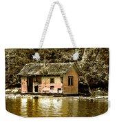 Sepia Floating House Weekender Tote Bag