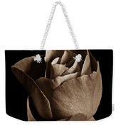 Sepia Rose Portrait 2 Weekender Tote Bag