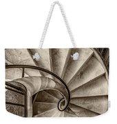 Sepia Spiral Staircase Weekender Tote Bag