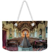 Septagonal Pyramidal Weekender Tote Bag by Adrian Evans