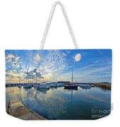 September Morning At Lyme Regis Weekender Tote Bag