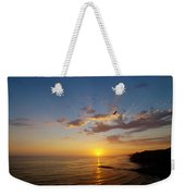 September Sunday Sunset  Weekender Tote Bag