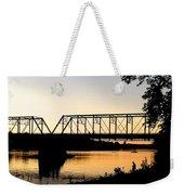 September Sunset On The River Weekender Tote Bag