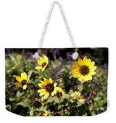 September Yellow Weekender Tote Bag