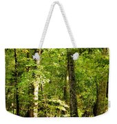 September's Woodlands Weekender Tote Bag