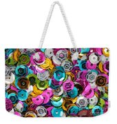 Sequins Abstract Weekender Tote Bag
