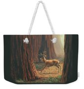 Sequoia Blacktail Deer Phone Case Weekender Tote Bag by Crista Forest
