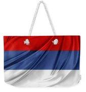Serbian Flag Weekender Tote Bag