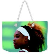 Serena Williams Match Point Weekender Tote Bag