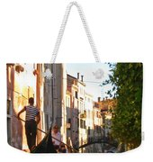 Serene Venice Scene Weekender Tote Bag