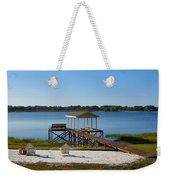 Serenity At The Lake Weekender Tote Bag