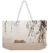 Serenity In Sepia Weekender Tote Bag