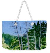 Serenity On The Lake Weekender Tote Bag