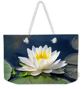 Serenity On The Lily Pond Weekender Tote Bag