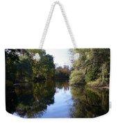 Serenity Pond Reflection At Limehouse Ontario Weekender Tote Bag
