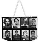 Serial Killers - Public Enemies Weekender Tote Bag