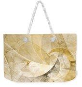 Series Abstract Art In Earth Tones 1 Weekender Tote Bag