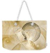 Series Abstract Art In Earth Tones 3 Weekender Tote Bag