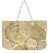 Series Abstract Art In Earth Tones 4 Weekender Tote Bag