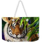 Second In The Big Cat Series - Tiger Weekender Tote Bag