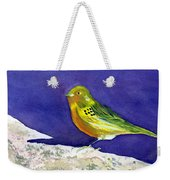 Serinus  Canaria  Aka The Canary Weekender Tote Bag