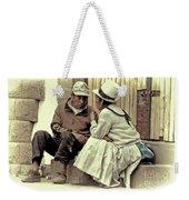 Serious Conversation Weekender Tote Bag