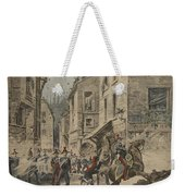 Serious Troubles In Italy Riots Weekender Tote Bag