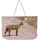 Serval Cat Weekender Tote Bag