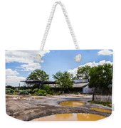 Service Station Weekender Tote Bag