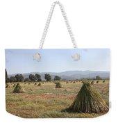 Sesame Crop And Harvest Weekender Tote Bag