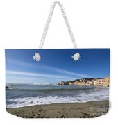 Sestri Levante And Beach Weekender Tote Bag