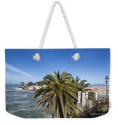 Sestri Levante And Palm Tree Weekender Tote Bag