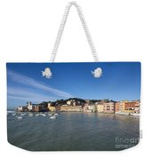 Sestri Levante With Blue Sky Weekender Tote Bag