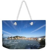 Sestri Levante With Clouds Weekender Tote Bag