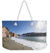 Sestri Levante With The Beach Weekender Tote Bag