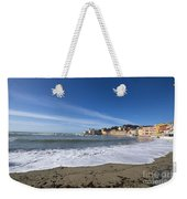 Sestri Levante With Waves Weekender Tote Bag