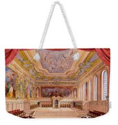 Set Design For The Merchant Of Venice Weekender Tote Bag