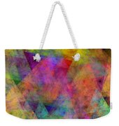 Set Sails On The Open Sea Abstract Weekender Tote Bag