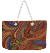 Set To Music - Original Abstract Painting Painting - Affordable Art Weekender Tote Bag