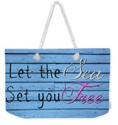 Set You Free Weekender Tote Bag