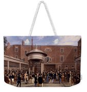 Settling Day At Tattersalls, Print Made Weekender Tote Bag