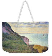 Seurat's Seascape At Port Bessin In Normandy Weekender Tote Bag