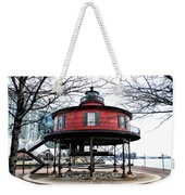 Seven Foot Knoll Lighthouse - Baltimore Weekender Tote Bag