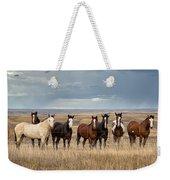 Seven Horses On The Range Weekender Tote Bag