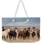 Seven Horses On The Range Pan Weekender Tote Bag